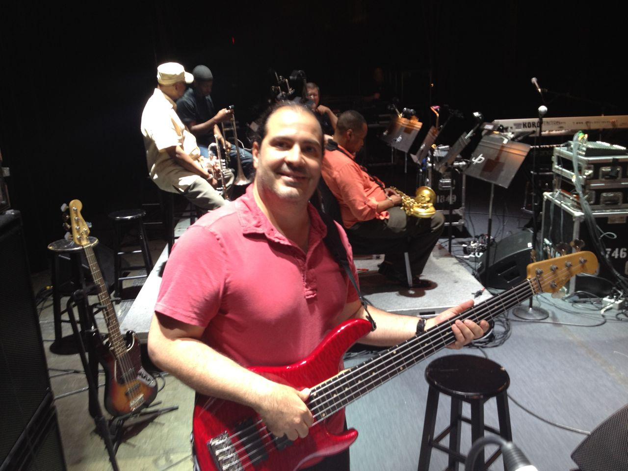 Marco Accattatis - PHOTO GALLERY - bassist, instructor, musicologist
